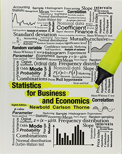 9780134087467: Statistics for Business and Economics Plus Mystatlab and Phstat with Pearson Etext -- Access Card Package