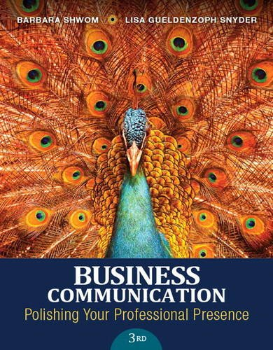 9780134088907: Business Communication: Polishing Your Professional Presence Plus MyBCommLab with Pearson eText -- Access Card Package (3rd Edition)
