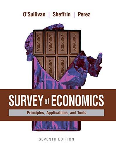 Survey of Economics (Paperback): Arthur O'sullivan