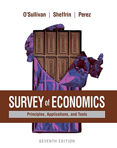 9780134089034: Survey of Economics: Principles, Applications, and Tools (7th Edition)