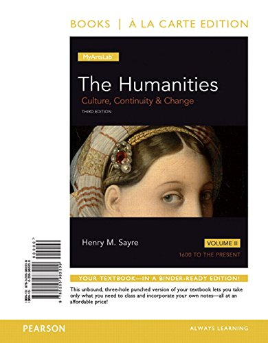 9780134090993: Humanities, The, Volume 2 ALC and REVEL AC Humanitiies V2 Package (3rd Edition)