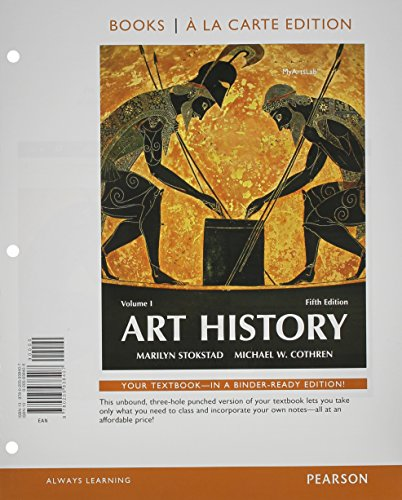 9780134091051: Art History Volume 1, Books a la Carte Edition Plus Revel for Art History - Access Card Package