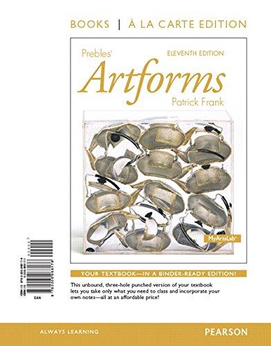 9780134091075: Prebles Artforms ALC plus REVEL Access Card (11th Edition)