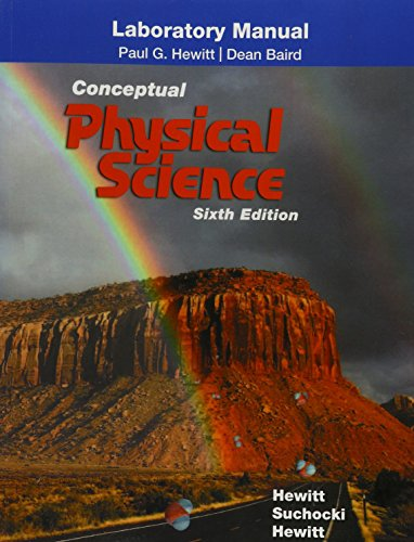 9780134091419: Laboratory Manual for Conceptual Physical Science