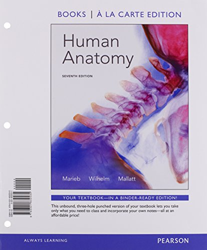 9780134092492: Human Anatomy, Books a la Carte, ModifiedMasteringA&P with eText Value Pack Access Card (7th Edition)