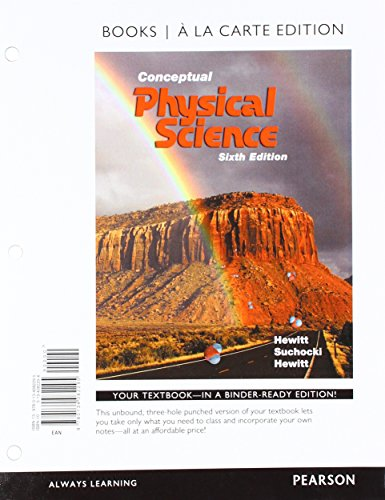 9780134092522: Conceptual Physical Science, Books a la Carte Plus Mastering Physics with Pearson eText -- Access Card Package (6th Edition)