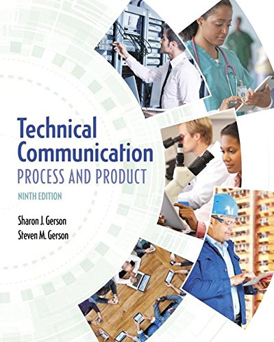 9780134094038: Technical Communication: Process and Product (9th Edition)