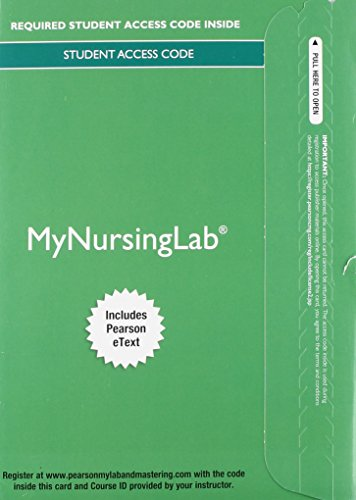 9780134094427: MyLab Nursing with Pearson eText -- Access Card -- for Medical-Surgical Nursing: Clinical Reasoning in Patient Care