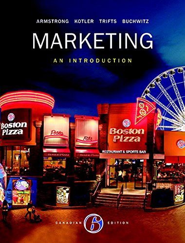 9780134095806: Marketing: An Introduction, Sixth Canadian Edition,