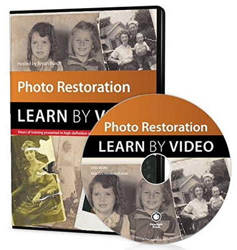 Photo Restoration Learn by Video Format: DvdRom: Burch, Bryan