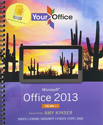 9780134099194: Your Office Microsft Ofc13 V1&mil Etx&365 Pk