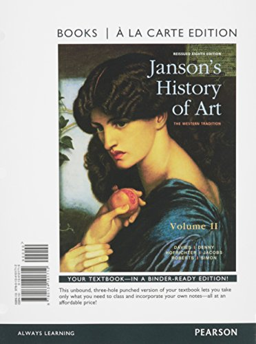 9780134101712: Janson's History of Art, Volume 2 Reissued Edition, Books a la Carte Edition (8th Edition)
