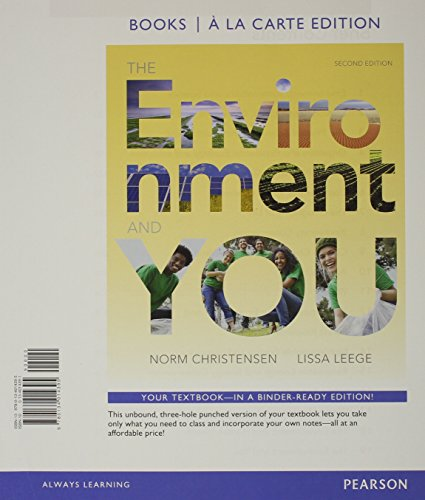 9780134102443: Environment and You, The, Books a la Carte Plus Mastering Environmental Science -- Access Card Package (2nd Edition)