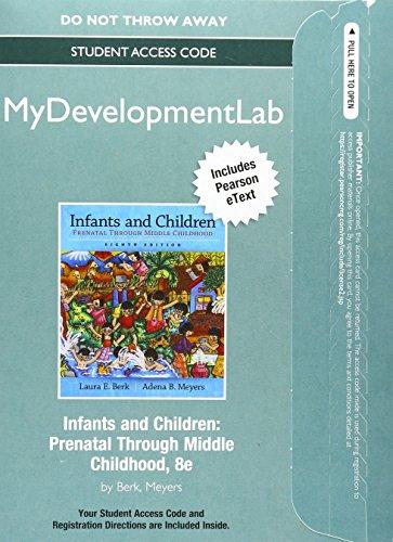 NEW MyLab Human Development with Pearson eText: Laura E. Berk;