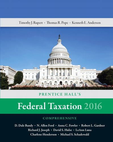 Prentice Hall's Federal Tax 2016: Comp: Pope