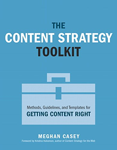 9780134105109: The Content Strategist's Toolkit: Methods, Guidelines, and Templates for Getting Content Right