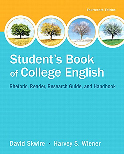 9780134106168: Student's Book of College English Plus MyWritingLab -- Access Card Package (14th Edition)