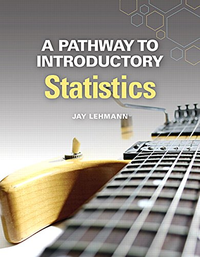 9780134107172: A Pathway to Introductory Statistics (Pathways Model for Math)