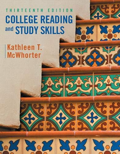 9780134111704: College Reading and Study Skills (13th Edition)