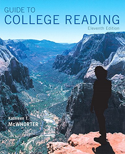 9780134111711: Guide to College Reading (11th Edition)