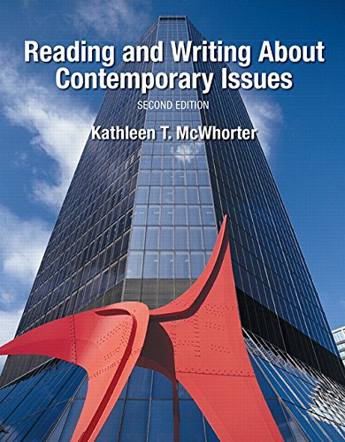 9780134112411: Reading and Writing About Contemporary Issues