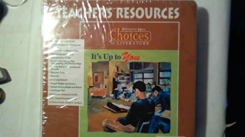 9780134113159: It's Up to You Teacher Resource Book: Choices in Literature, Copper (Choices in Literature (Copper Teacher's Guides))