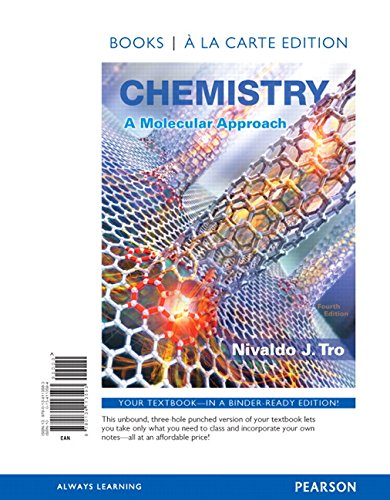 9780134113593: Chemistry: A Molecular Approach, Books a la Carte Edition
