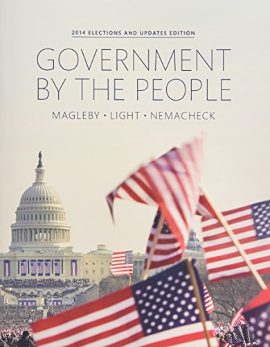 9780134114040: Government By the People, 2014 Election Update Plus NEW MyPoliSciLab for American Government -- Access Card Package