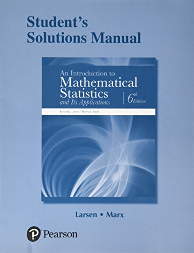 9780134114262 Student S Solutions Manual For An