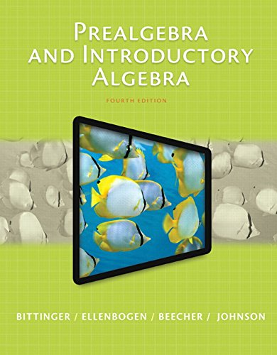 Prealgebra and Introductory Algebra Plus NEW MyMathLab with Pearson eText (4th Edition) (What'...