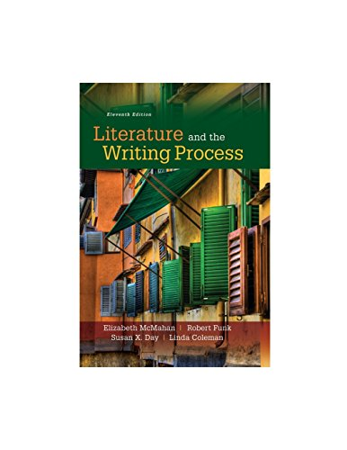 9780134117904: Literature and the Writing Process (11th Edition)