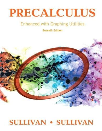 9780134119281: Precalculus Enhanced with Graphing Utilities (7th Edition)