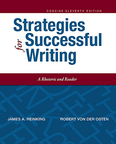 9780134119519: Strategies for Successful Writing, Concise Edition