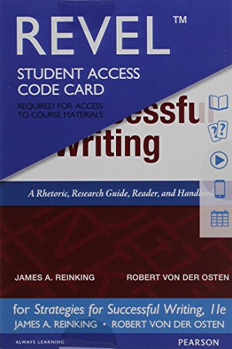 9780134120270: Strategies for Successful Writing, Concise Edition, Books a la Carte edition (11th Edition)