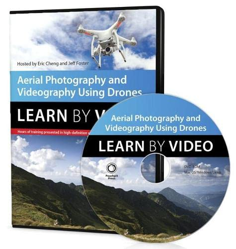 9780134121949: Aerial Photography and Videography Using Drones Learn by Video