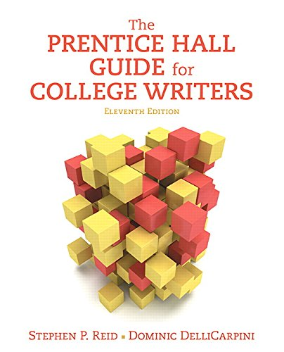 9780134121956: The Prentice Hall Guide for College Writers (11th Edition)