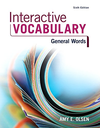 9780134122373: Interactive Vocabulary (6th Edition)