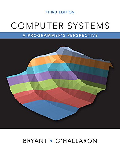9780134123837: Computer Systems: A Programmer's Perspective