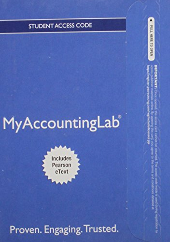 9780134124193: MyLab Accounting with Pearson eText -- Access Card -- for Prentice Hall's Federal Taxation 2016 Individuals