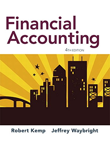 accounting 4th edition Access financial and managerial accounting 4th edition solutions now our  solutions are written by chegg experts so you can be assured of the highest  quality.