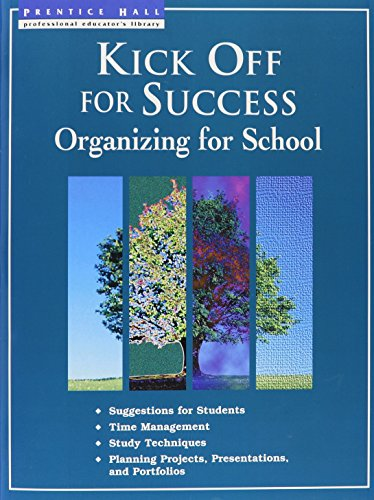Kick Off for Success Organizing for School (Kick Off for Success Organizing for School): Jeannette ...