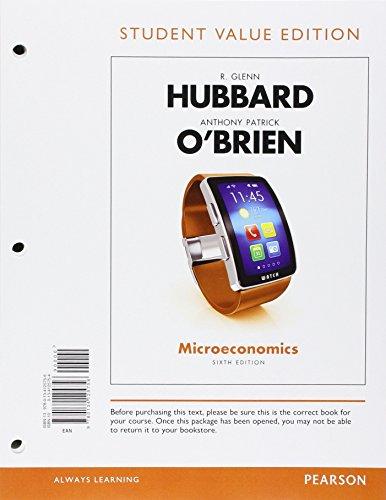 Microeconomics: Hubbard, Glenn P./