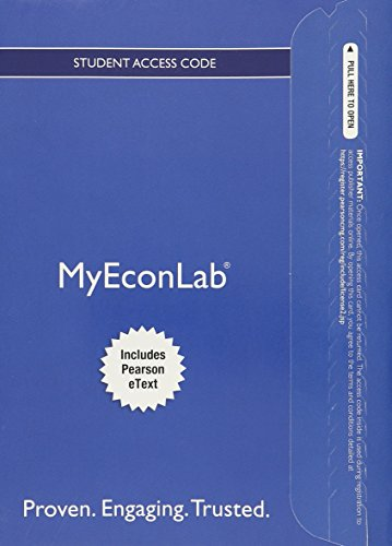 9780134125886: MyEconLab with Pearson eText -- Access Card -- for Microeconomics