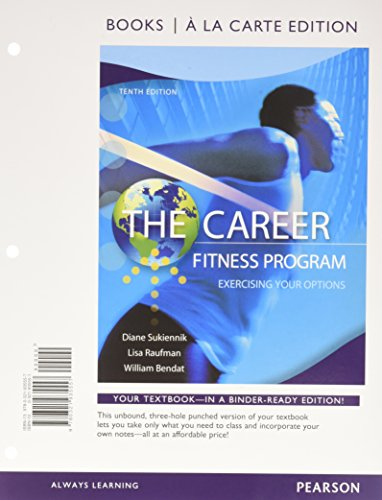 9780134126661: The Career Fitness Program: Exercising Your Options, Student Value Edition Plus NEW MyLab Student Success with Pearson eText -- Access Card Package (10th Edition)