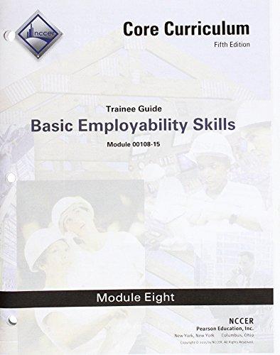 9780134128962: 00108-15 Basic Employability Skills Trainee Guide