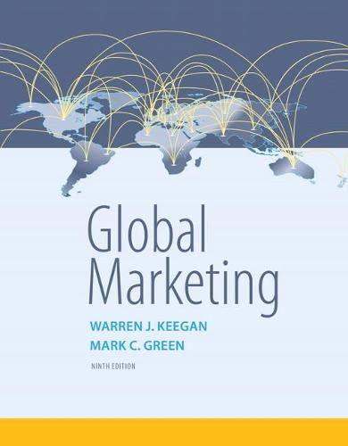 9780134129945: Global Marketing