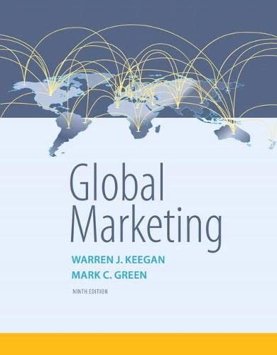 9780134129945: Global Marketing