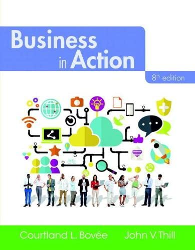 9780134129952: Business in Action (8th Edition)