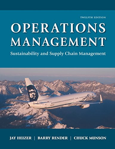 9780134130422: Operations Management: Sustainability and Supply Chain Management