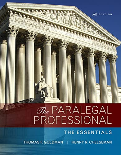 9780134130866: Paralegal Professional: The Essentials, The (5th Edition)
